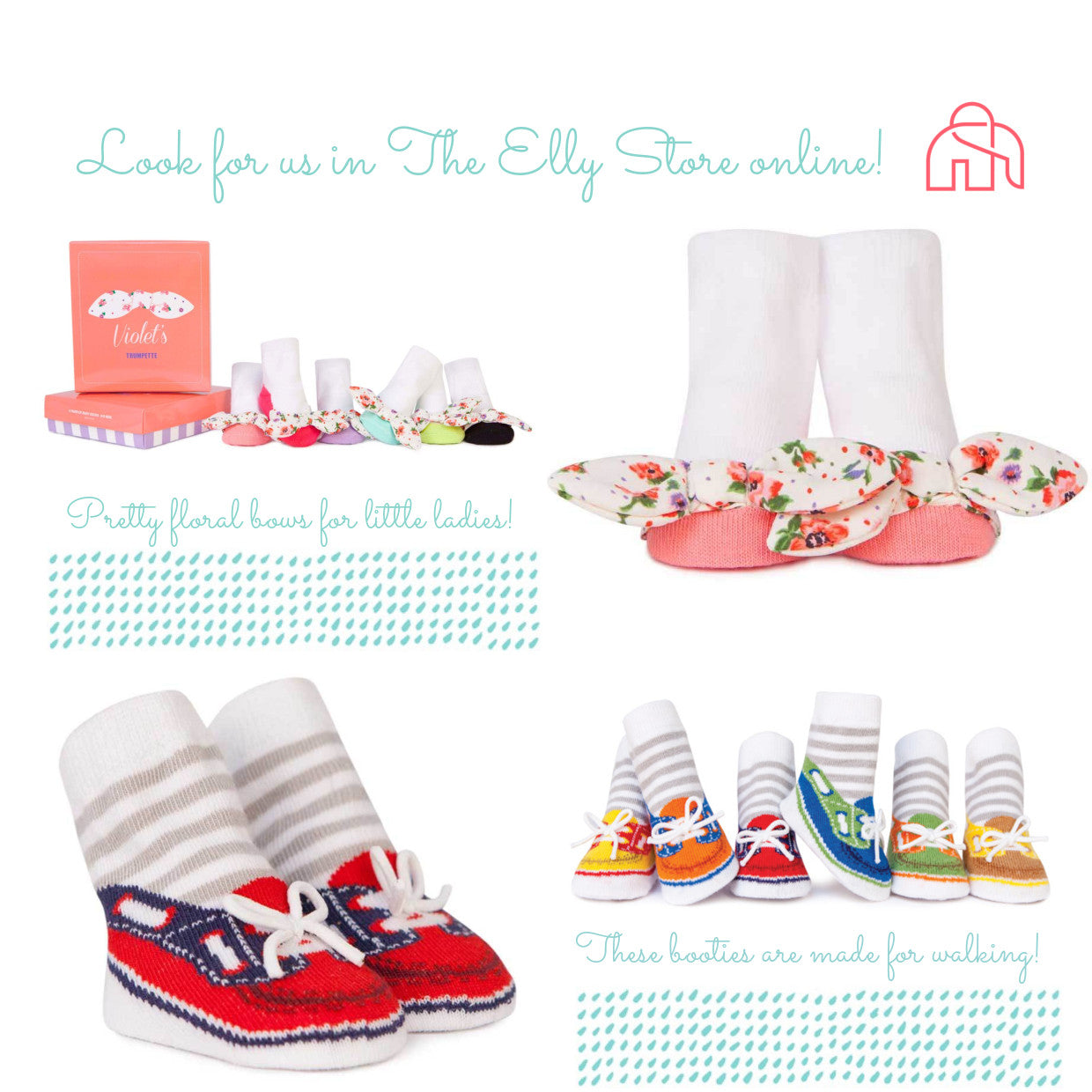 The Elly Store Shoes Hari Raya Kids Trumpette Socks baby