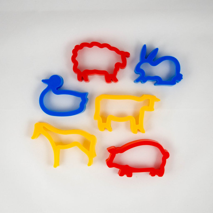 Farm Playdough Cutters
