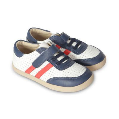 Cam Shoe - Navy / Red Old Soles The Elly Store