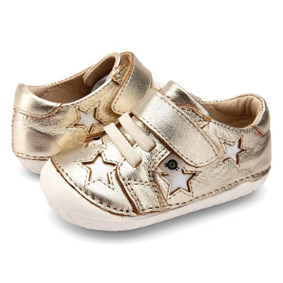 Old Soles Starey Pave Gold / Snow Sneakers | The Elly Store