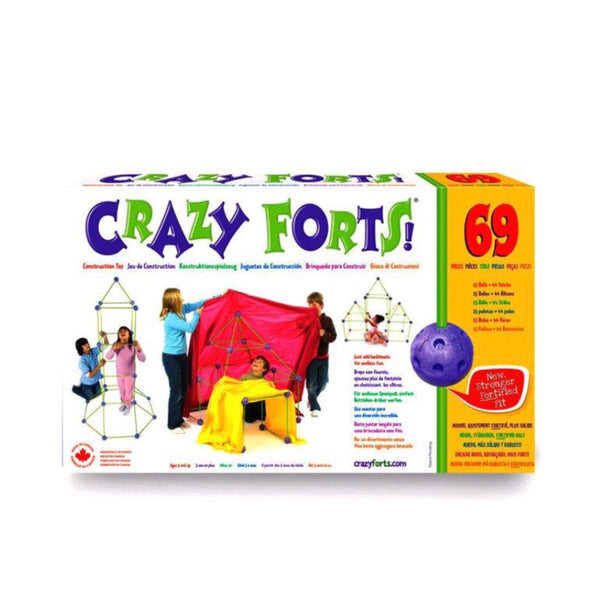 Crazy Forts Original Kids DIY Play House Tent