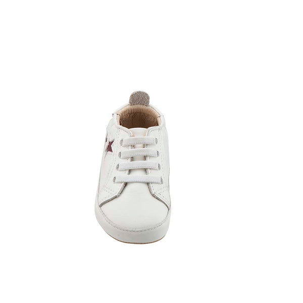 Old Soles Prewalkers White Bambini Star Sneakers
