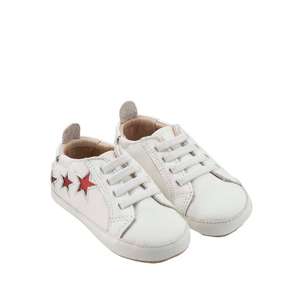 Old Soles White Bambini Star Sneakers Baby Shoes
