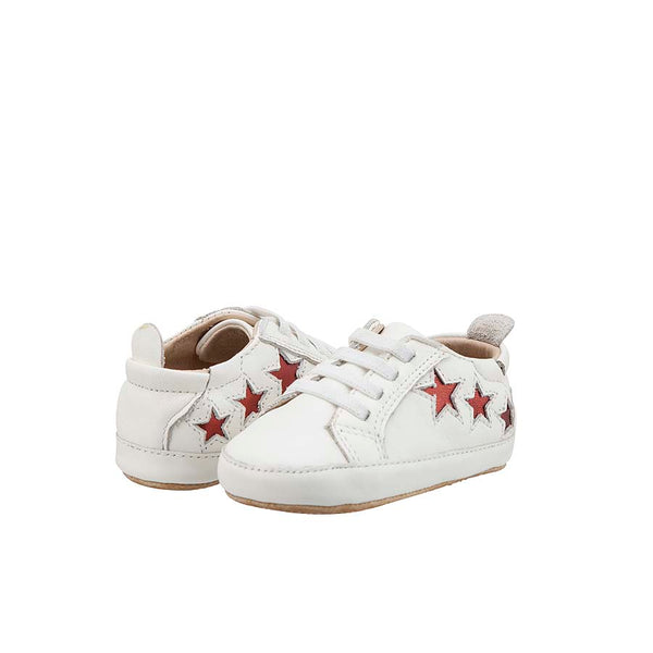 Old Soles Prewalkers White Bambini Star Sneakers Baby Shoes