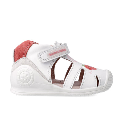 Blanco Fruity Sandals | Biomecanics | The Elly Store