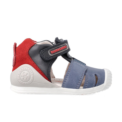 Azul Marino Kaiser Sandals | Biomecanics Kids Shoes | The Elly Store