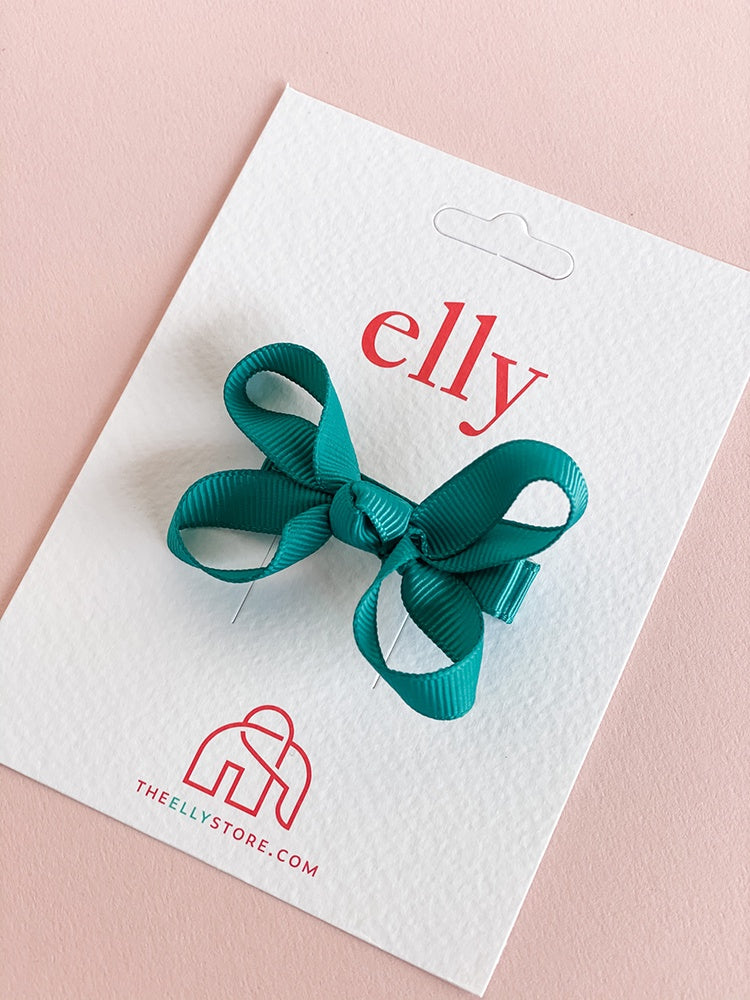 Twinkle Bow - Teal | Hair Accessories | The Elly Store