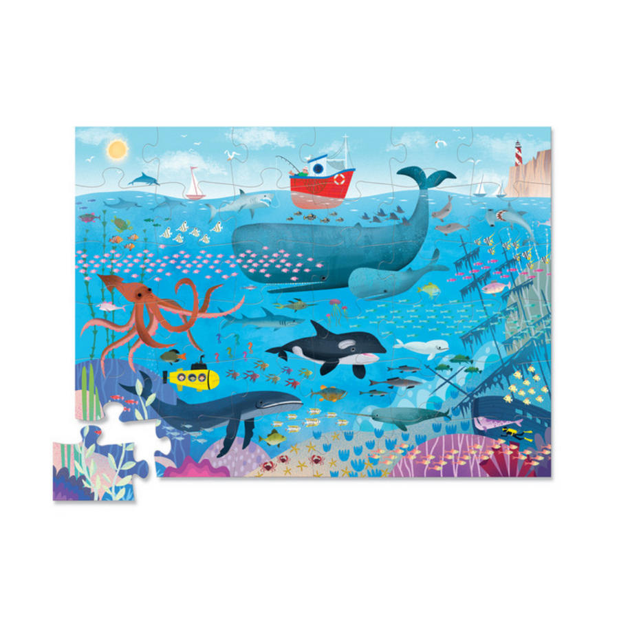 36 Piece Puzzle - Under the Sea Crocodile Creek