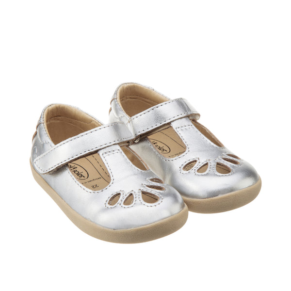 Petals by Old Soles in Silver | Buy Kids Shoes online at The Elly Store Singapore