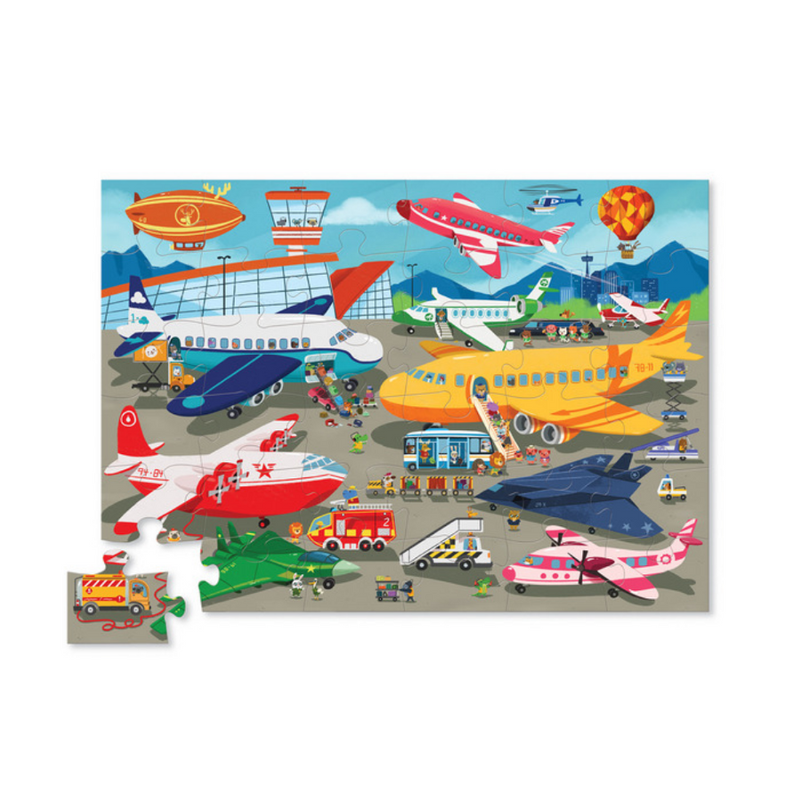 36 Piece Puzzle - Busy Airport