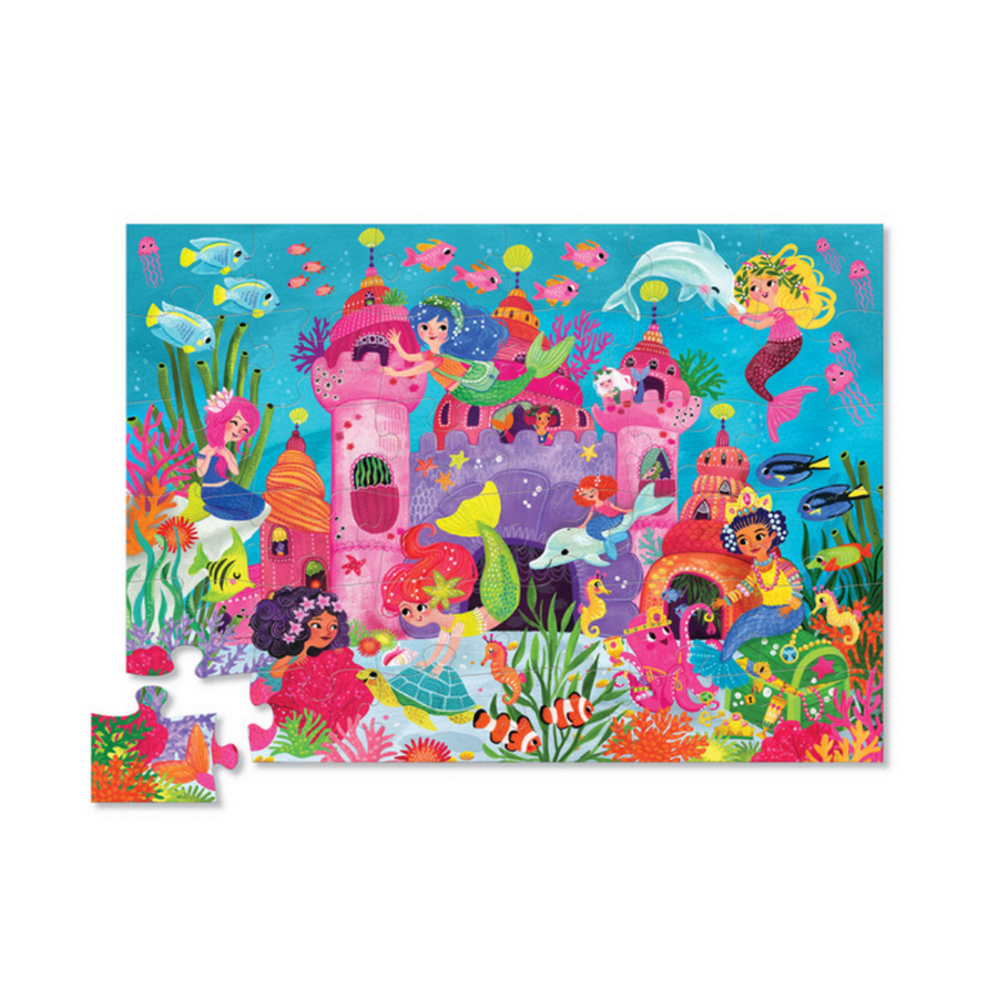 36 Piece Puzzle - Mermaid Palace