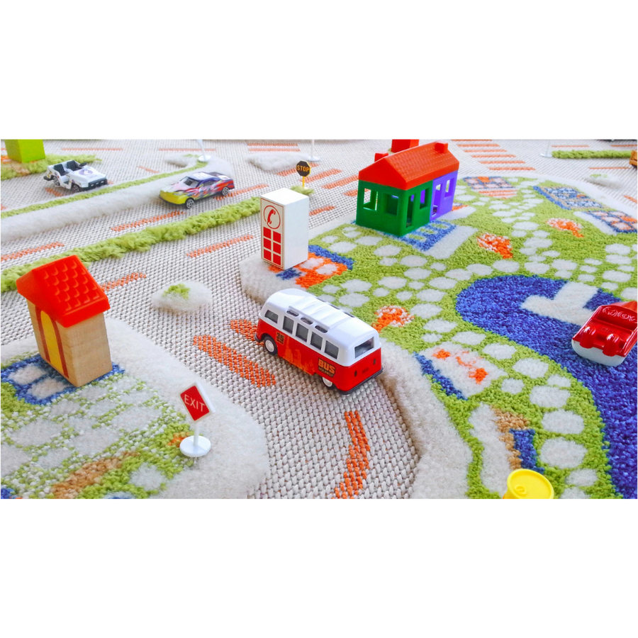 3D Play Rug - Mini City (Medium)