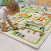 3D Play Rug - Traffic Green (Small) IVI