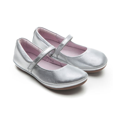 Tip Toey Joey - New Twirl Mary Jane Shoes Sterling Silver