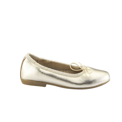 Old Soles Brule Gold Ballet Flats Girls Shoes