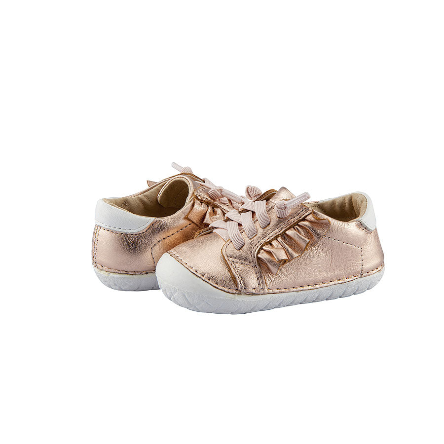 Old Soles Ruffle Pave Copper / Snow | Kids Shoes Singapore