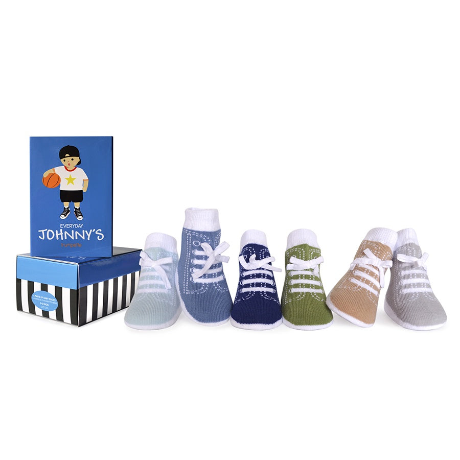 Everyday Johnny Baby Socks