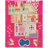 3D Play Rug - Playhouse Pink (Small) IVI