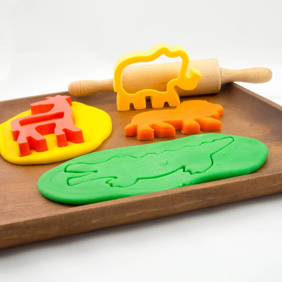 Jungle Playdough Cutters