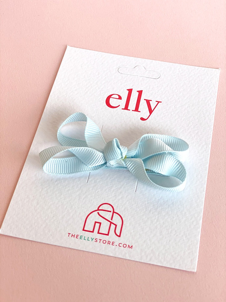 Twinkle Bow - Icy Blue | Hair Accessories | The Elly Store