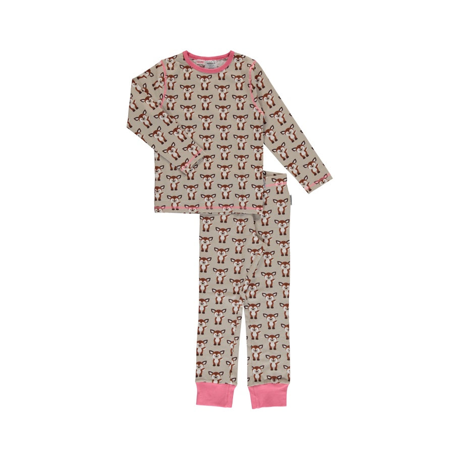 Long-Sleeve Pyjamas Fawn