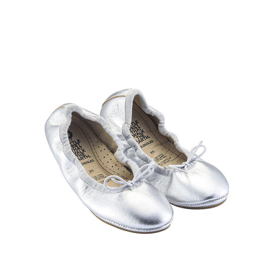Old Soles Cruise Ballet Flats Silver | The Elly Store Singapore