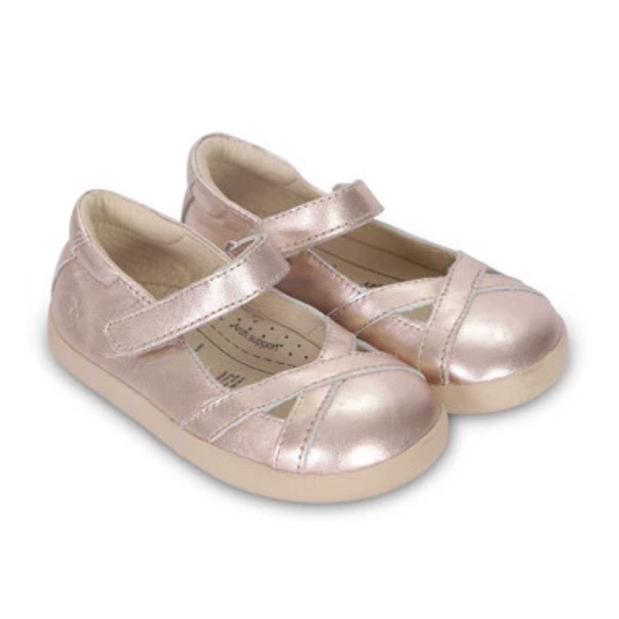 Old Soles Chianti Girl Copper Kids Shoes | The Elly Store