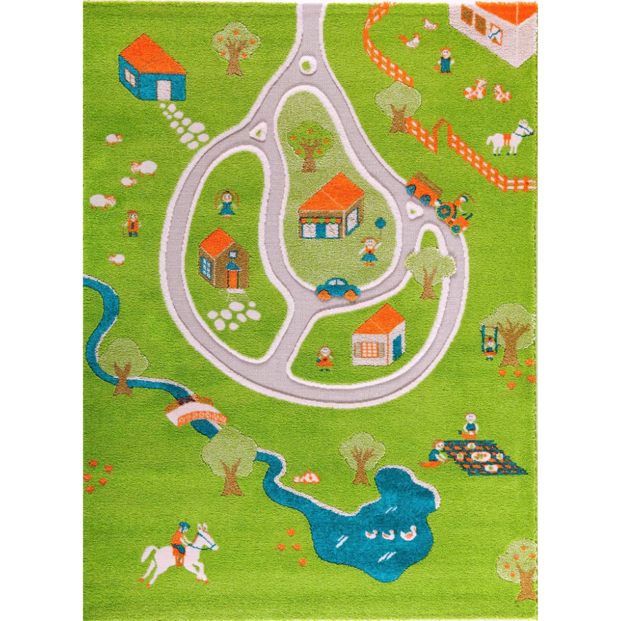 3D Play Rug - Farm (Medium) IVI