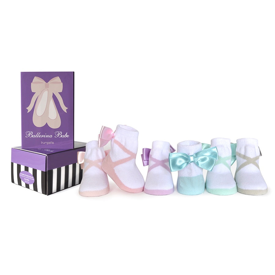 Trumpette Ballerina Babe Baby socks | The Elly Store