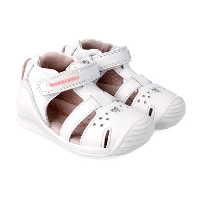 Calada Blanco Star Sandals | Biomecanics Kids Shoes | The Elly Store