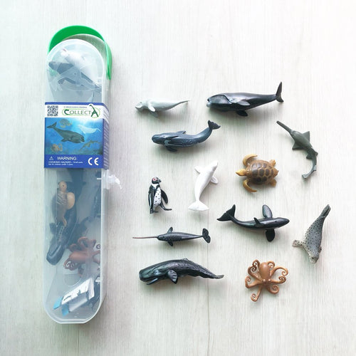 tickle your senses collecta sea life sea creatures set miniature figurines singapore