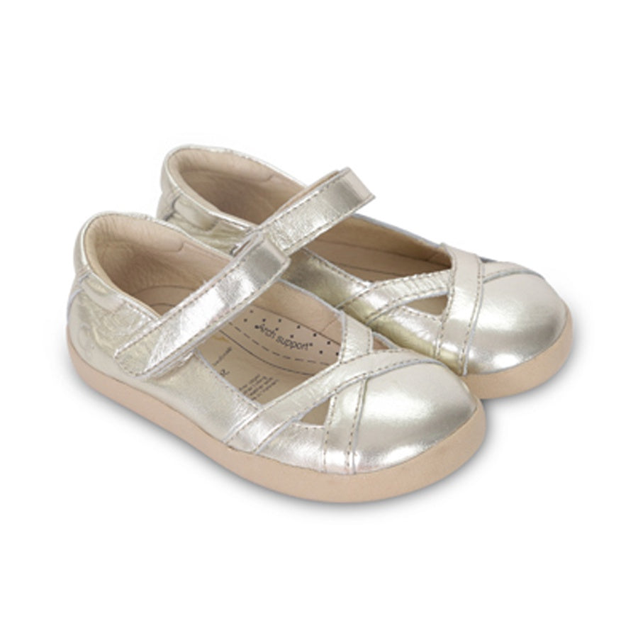 Old Soles Chianti Girl Gold Kids Shoes | The Elly Store