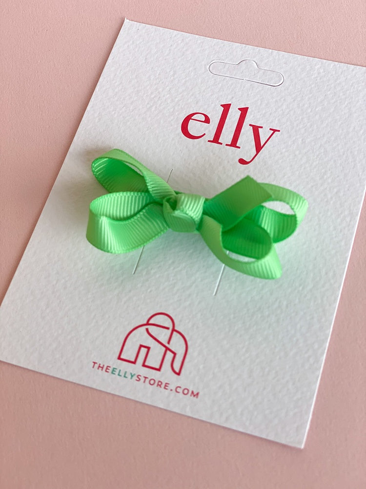 Twinkle Bow Mint Green | Hair Accessories | The Elly Store