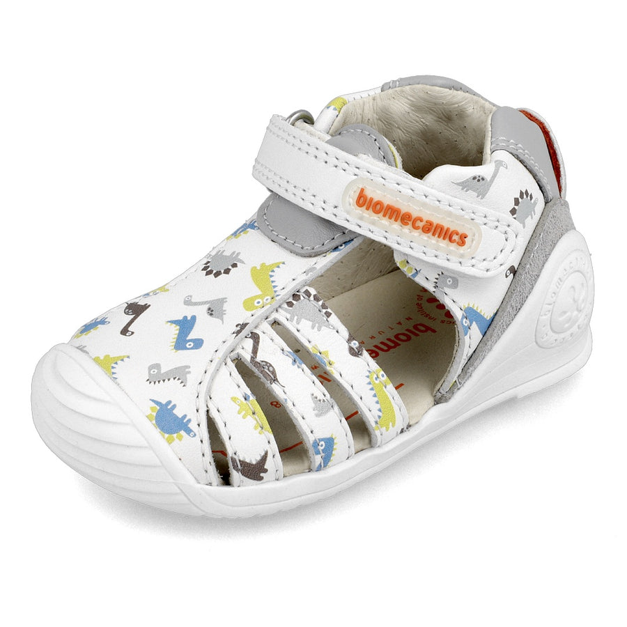 Biomecanics Blanco Dinos Sandals | Kids Shoes | The Elly Store Singapore