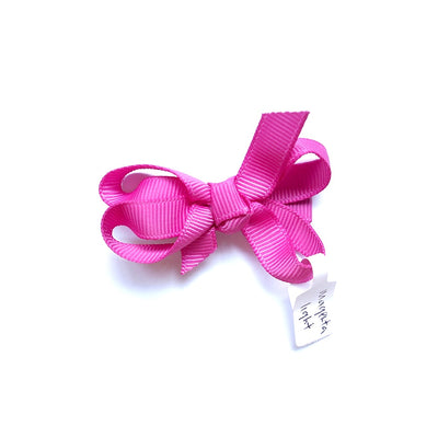 Twinkle Hair Bow - Light Magenta | The Elly Store