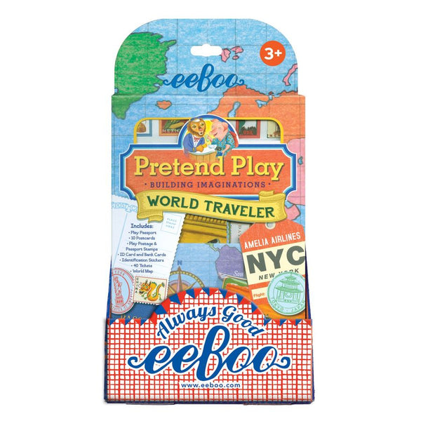 eeBoo - World Traveler Pretend Play Singapore