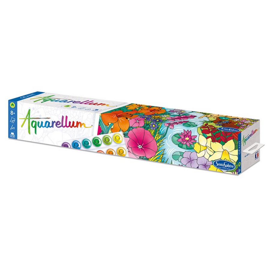 "Aquarellum Giant ""Jardin Anglais"" - English Garden"