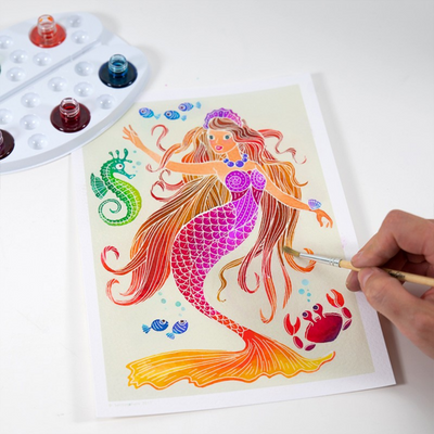 "Aquarellum Junior ""Sirènes"" - Mermaids Sentosphere"