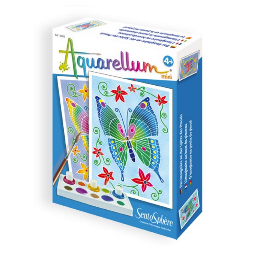 "Aquarellum Mini ""Papillons"" - Butterflies"