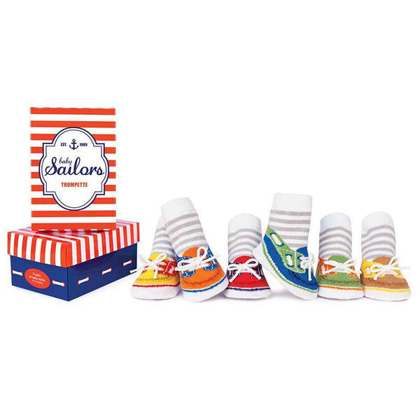 Trumpette Baby Sailors Newborn Infant Boys Socks | Buy Baby Clothes online at The Elly Store