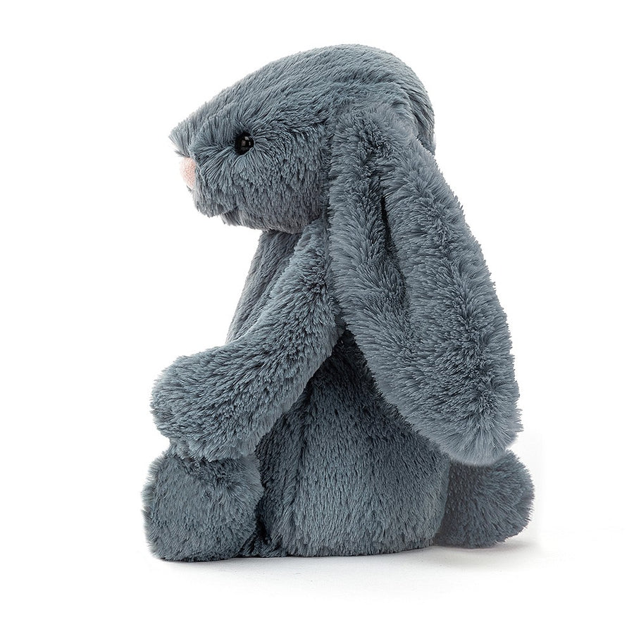 Jellycat Bashful Dusky Blue Bunny | Soft Toys | The Elly Store
