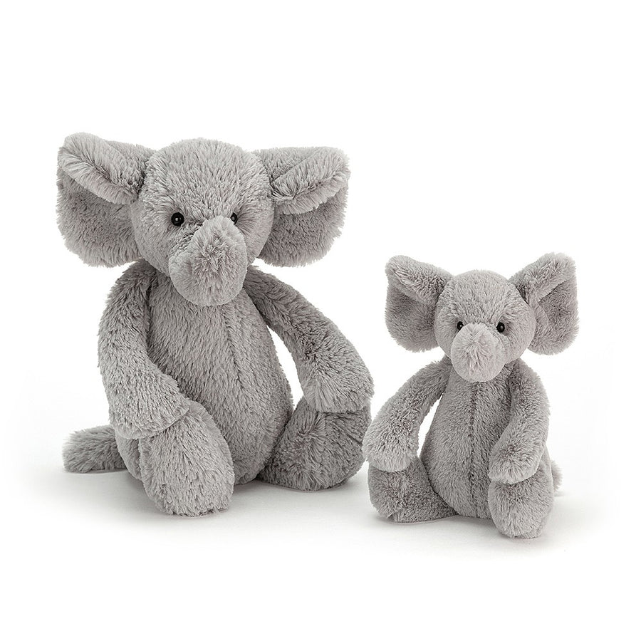 Jellycat Bashful Elephant Soft Toys | The Elly Store