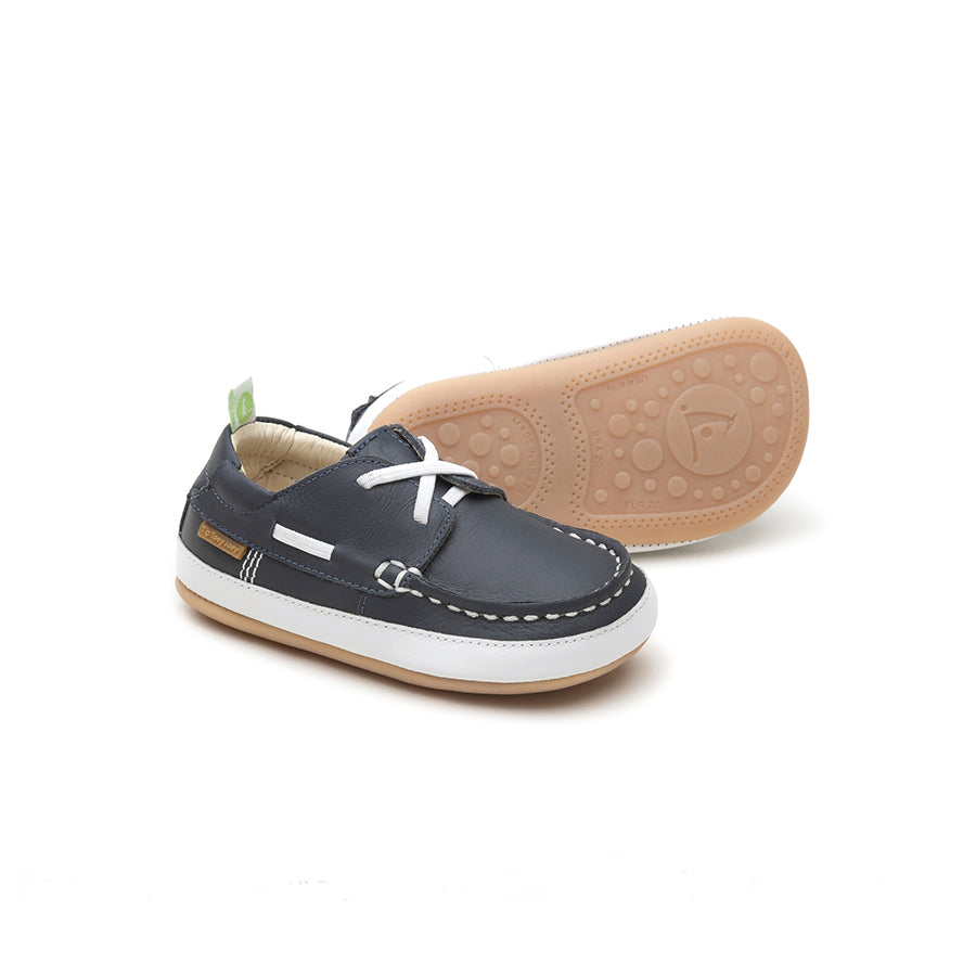 Tip Toey Joey Boaty Loafers Navy | The Elly Store