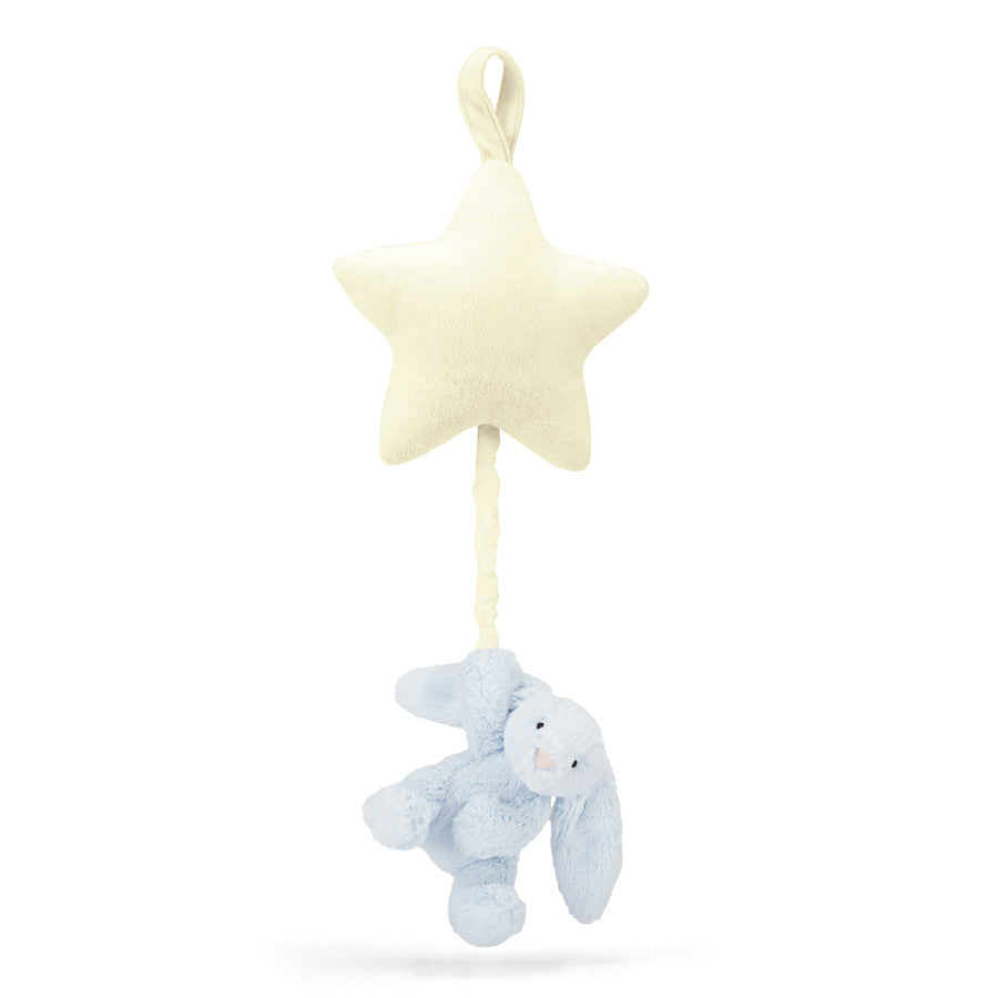 Jellycat Bashful Blue Bunny Star Musical Pull | Buy Jellycat Baby Kids online at The Elly Store Singapore