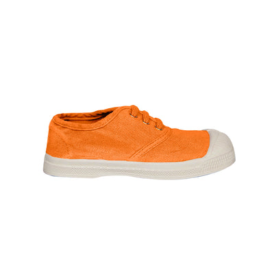 Bensimon Kid Lace Sneakers - Apricot | The Elly Store