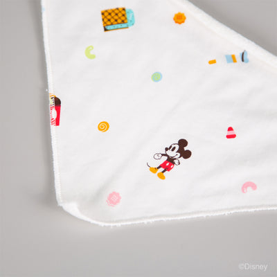 Disney x elly Snack Goals collection - Baby Bib Ice Cream Mickey