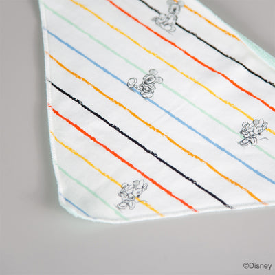 Disney x elly collection | Bib Rainbow Stripes Mickey