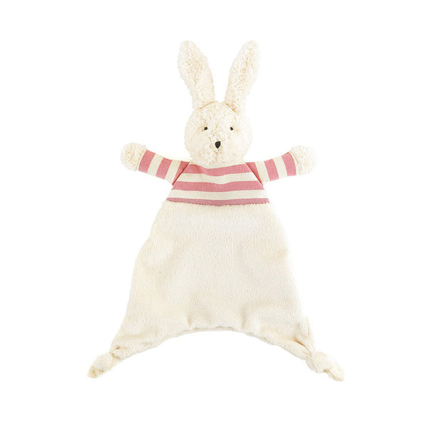 Jellycat Bredita Bunny Soother in Pink Stripes | Buy Jellycat Baby Kids online at The Elly Store Singapore