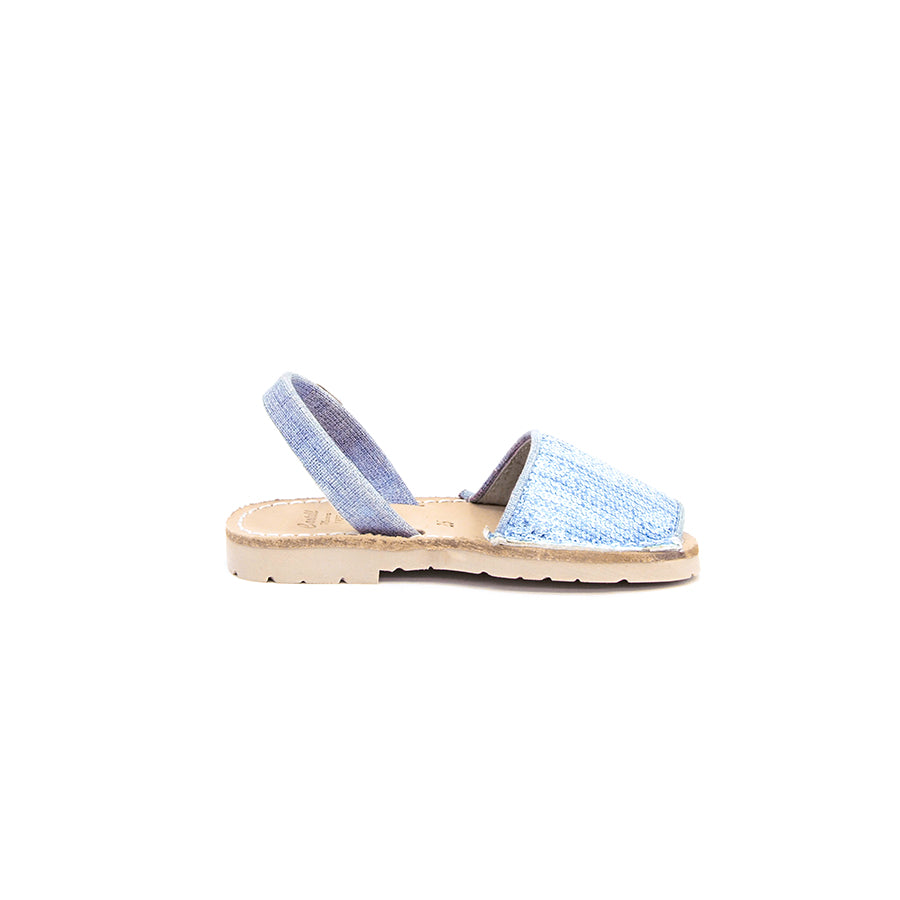 Iker Sandals Denim Sequins
