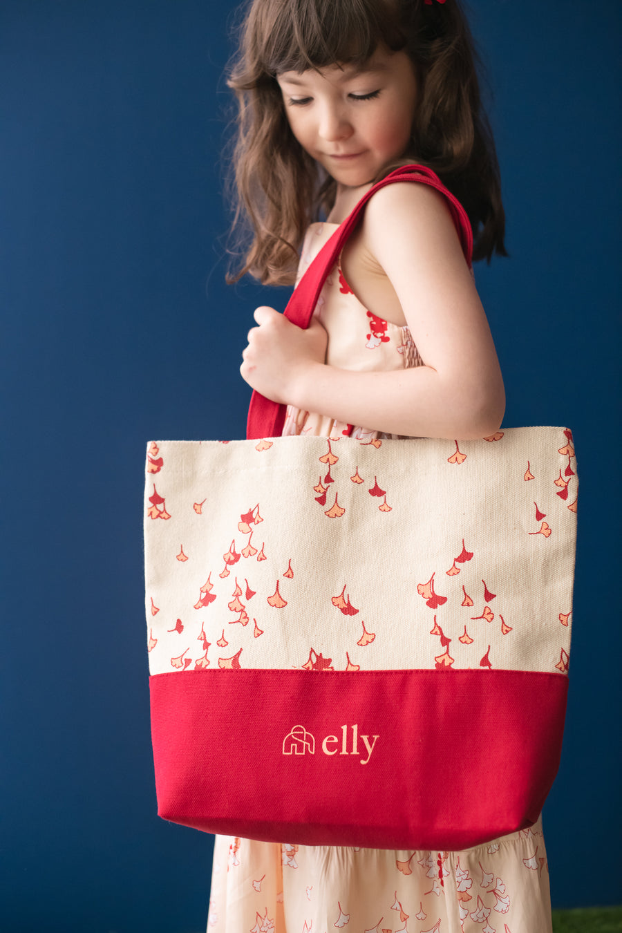 Elly Gingko Canvas Bag